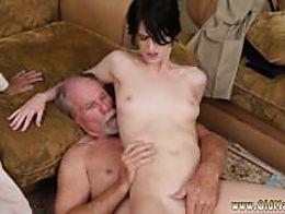 Step dad fucks friend's daughter in her tight young pussy first t...