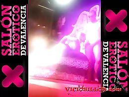 Show porno de Aradia Prats (aka LAdy Core) follando con Kevin Diamond en el Salón erótico de ...