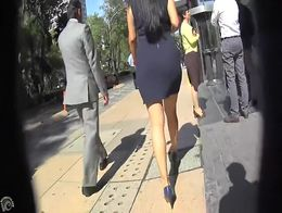 During my lunch break I like to head out into the city and film the amazing booties of corporat...