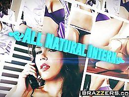 Brazzers - Big Tits at Work - All Natural Intern scene starring Valentina Nappi and Michael Veg...