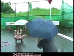 Young japan naked public outside