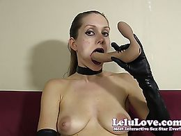 In this custom video, I'm goth'd out in my dark makeup, dark lipstick, black choker and black g...