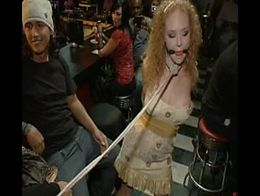 Audrey Hollander gets taken to a bar and fucked pretty much every way possible. She gets three ...