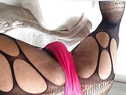 Pink panties popin