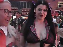 The Best Moments of the Salon Erótico de Barcelona 2016 - Musa Libertina porn crew