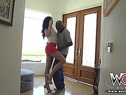 Horny Bianca Breeze is feeling in the mood for dessert. She is so skinng so dark chocolate is t...