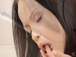 Angellina Aiko Mai Hot Lesbian Sex with Whipped Cream - EroticVideosHD...