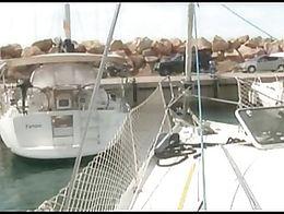 Tranny on my Boat in Barcelona
