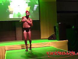Show gay hermafrodita en el Valencia Sex Festival