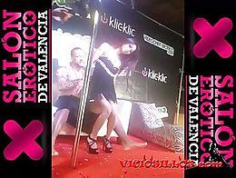 Show porno de Lady May y Rob Diesel follando en el Salón erótico de Valencia 2013