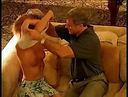 Beverly Lynne in a vigorous sex scene is riding a guy and shows the completely naked body. As s...