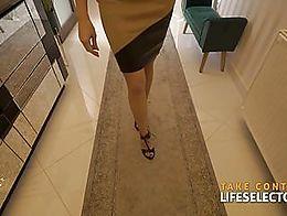 Do you like skinny bitches? Yes? Ok, you will LOVE Sasha Colibri. Enjoy as she puts her skinny ...