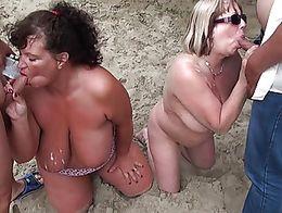 Sexy:) ich beach bukkake arse! Humm