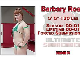 Barbary Rose, Tied up and made to cum over and over again.