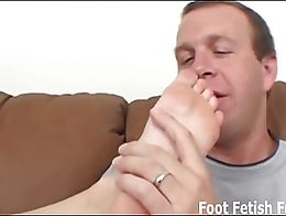 When I get onto the couch, I want you to put my little toes in your mouth. I want you to suck o...