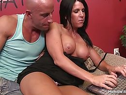 Milf Kendra Secrets is trying to earn more money by doing a webcam. But, she got offered more m...