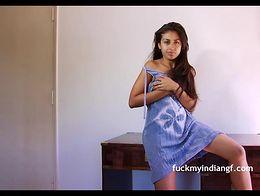 Indian University Sexy Babe Rohini Strip Naked