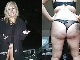 Pawg milf Karen from Cheshire exposed