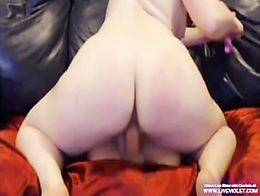 Gorgeous redhead milf Courtnie loves her adult-toys
