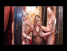 TAC Amateurs.com presents Nude Chrissy in 'Swingers Gangbang'. This horny MILF steps ...