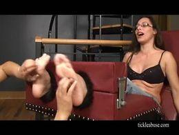 Ticklish teacher