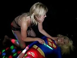 From Superheroine Sybian Showdown