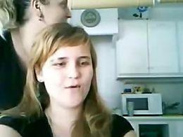 dad daughter webcam