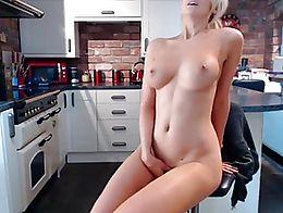 British Step Mom Masturbating In The Kitchen,,,,