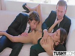 TUSHY My fantasy of a double penetration