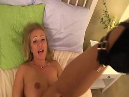 Virtual blonde ovulating needs cock