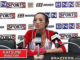 Brazzers - Big Tits In Sports - Fuck The Fans scene starring Katsuni and Keiran Lee