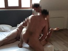 She wanted to be gang banged and fucked hard. We fucked her 2 hours with non-stop. Ass fucking,...