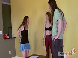 LostBets - 518P - Strip Rock-Paper-Scissors with Ana Molly, April JD