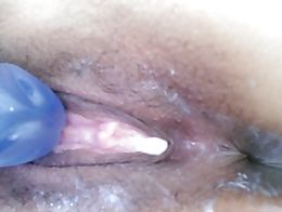 Spread Hmong pussy lips creampiesemination juices wet cum vagina opening hole gape