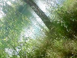 Sun & lake