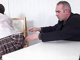 |Imagine what her classmates thought when they found out Lita Phoenix had fucked her teacher in...