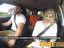 I went for my instructor test today but Katy wanted more then that. After a steamy fuck, she di...