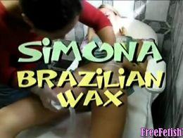 Brazilian Teen Waxing - FreeFetishTV.com