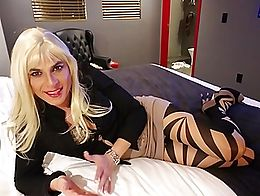 Alexa talks about perversion and looking so sexy and juicy in amazing pantyhose, tiny mini skir...