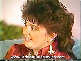 Donna James (Donna Murray), says she's Irish, interviewed by Lee Francis, poses for glamou...