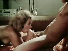 Milf takes a huge cock and makes him cum twice