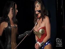 Wonder Woman Fetish Slave