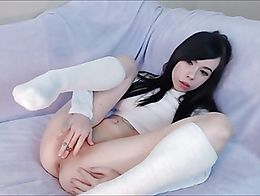 Huge anal dildo fisting