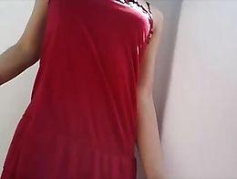Vestido rojo dress red