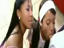 Little Lupe Emy Reyes are two brunette  www.porn-jizz.net/3some.html