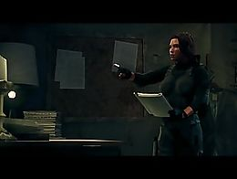 a short cutscene from Saints Row 3 starring Robin Meade, voiced by Jennifer Hale if I remember ...