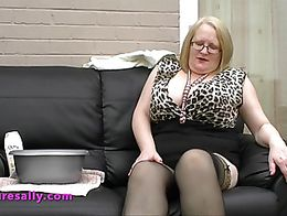 STOP PRESS!! Sally goes hardcore!! Now live in her members area of her website some of her luck...