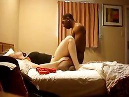 he seems to do a god job on her.