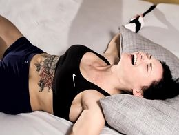 Tickle Therapy - Powerlifter Nataly tickle therapy by Elya preview