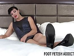 You are one lucky boy because I have a perfect pair of feet and they need to be pampered daily....